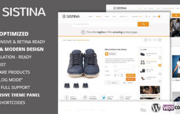 Sistina v1.9.0 – Flat Multipurpose Shop Theme – 5220602 – ThemeForest