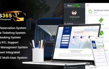 Bus365 v2.0 – Bus Reservation System with Website