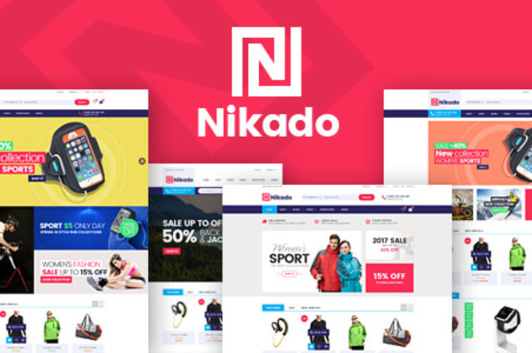 Nikado v1.1.2 – Responsive Theme for WooCommerce