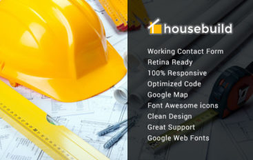 Housebuild – Responsive Construction Mura Theme
