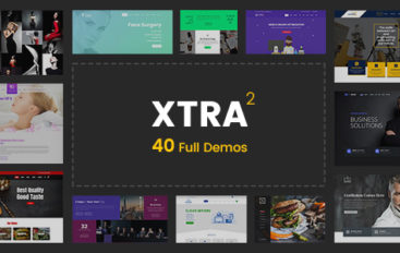 XTRA v2.6 – Multipurpose WordPress Theme + RTL