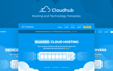 Cloudhub Hosting and Technology HTML Template v1.11