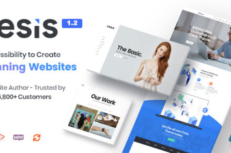 Cesis v1.3.1 – Responsive Multi-Purpose WordPress Theme