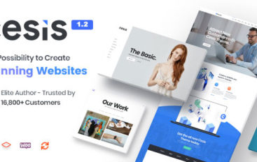Cesis v1.2.2 – Responsive Multi-Purpose WordPress Theme