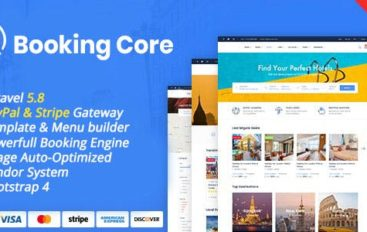 Booking Core v1.1.0 – Ultimate Booking System