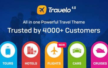 Travelo v4.1.2 – Travel/Tour/Car Rental/Cruise Booking WordPress Theme