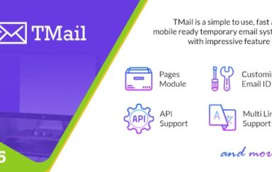 TMail v5.5 – Multi Domain Temporary Email System – nulled