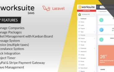 Worksuite Saas v3.6.1- Project Management System – nulled